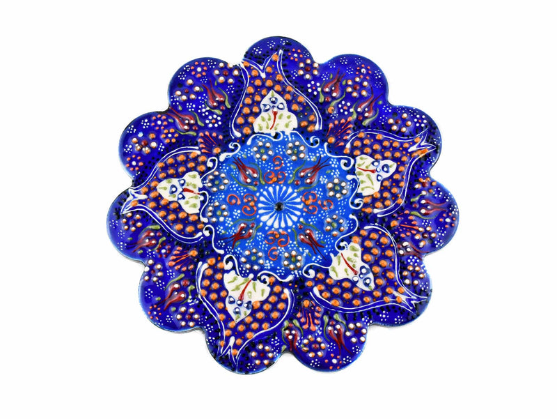 Turkish Ceramic Trivet Dantel Collection Blue Ceramic Sydney Grand Bazaar 1