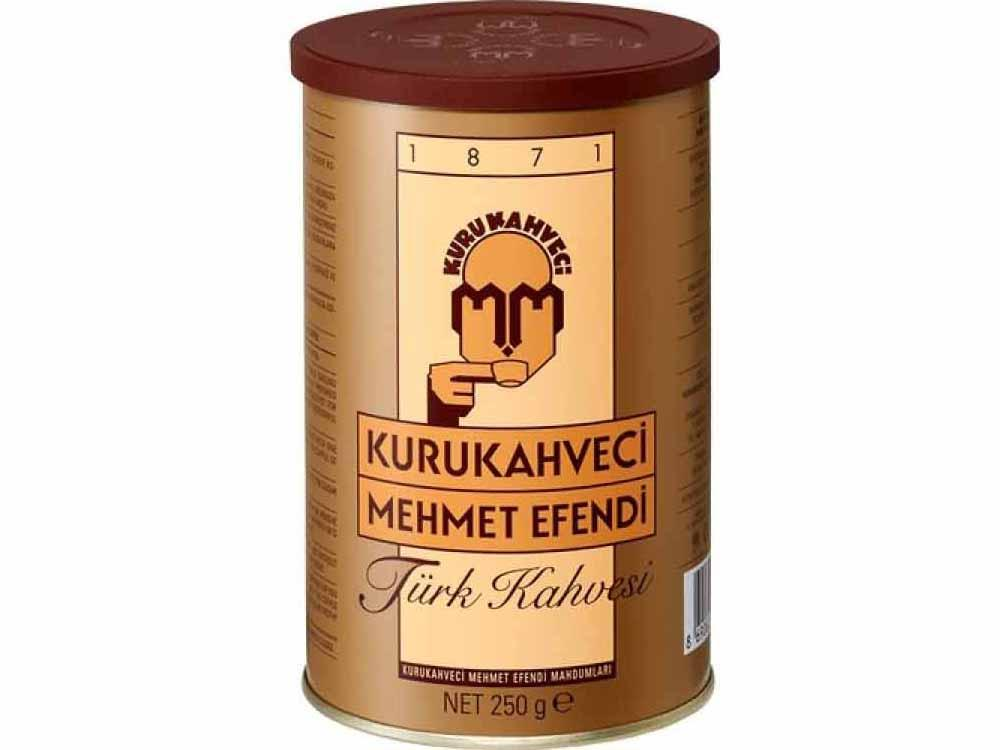 Turkish Coffee Kurukahveci Mehmet Efendi 250gr Sydney Grand Bazaar