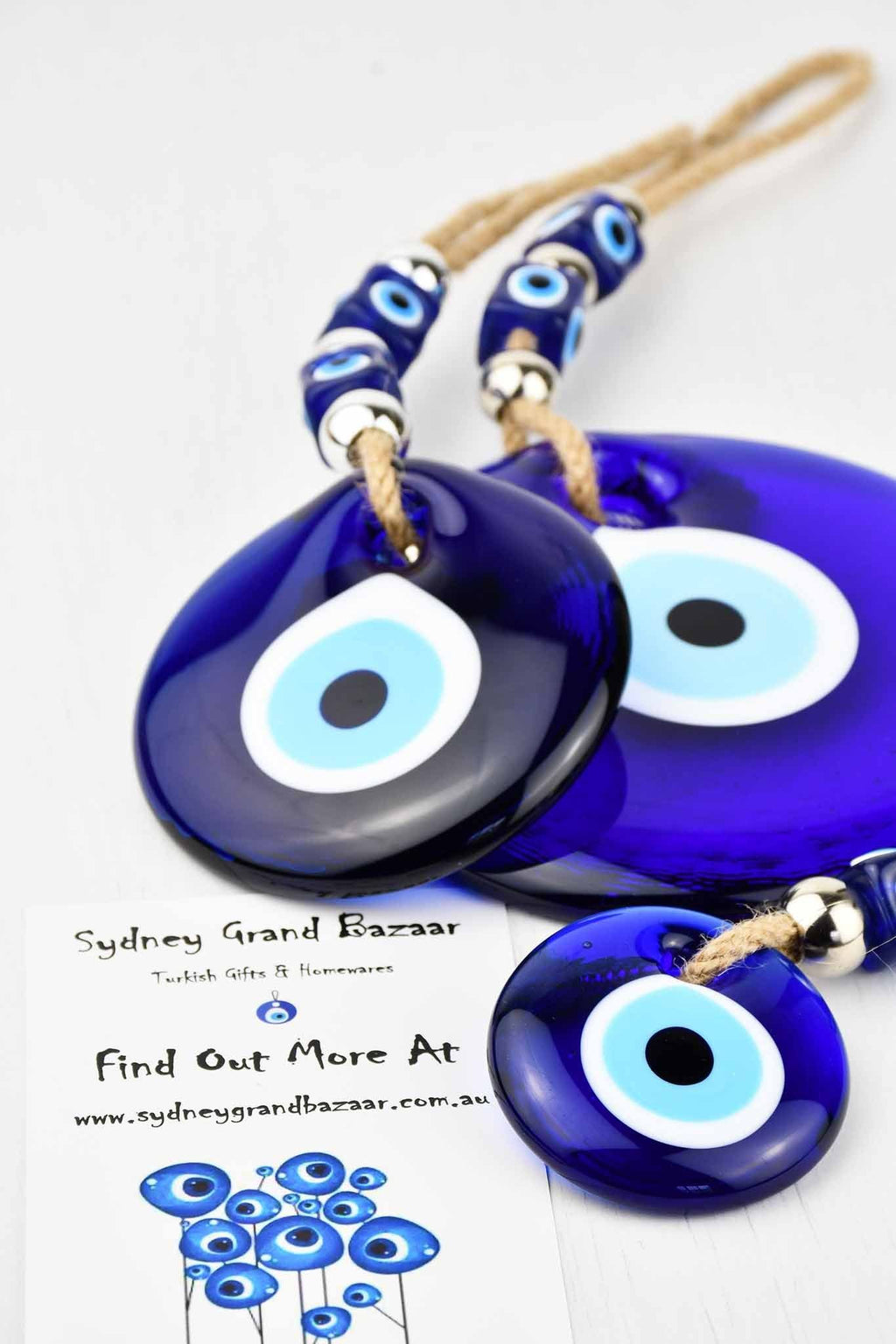 Turkish Evil Eye Glass Beads Wall Ornaments Evil Eye Sydney Grand Bazaar