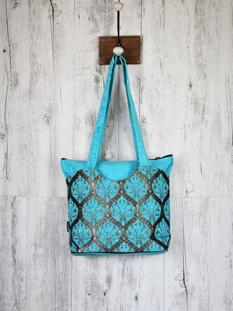 Turkish Handbag Tote Tradition Turquoise Textile Sydney Grand Bazaar