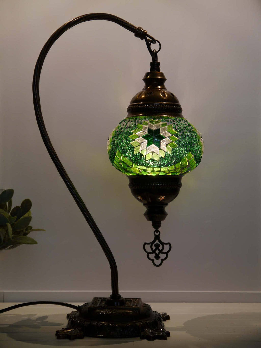 Arabic lights handmade green colour