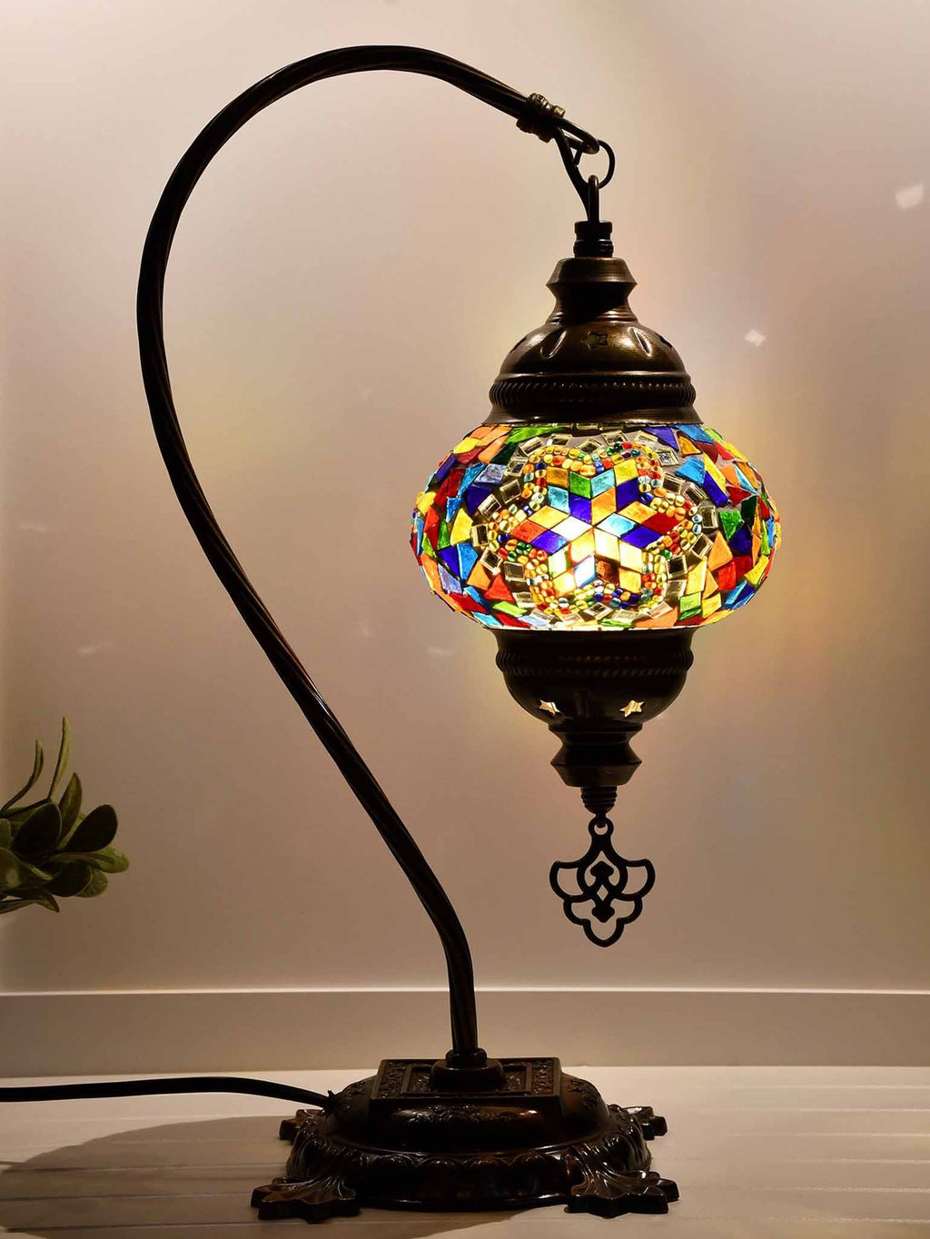 Turkish Lamp Hanging Multicoloured Traditional Star Lighting Sydney Grand Bazaar