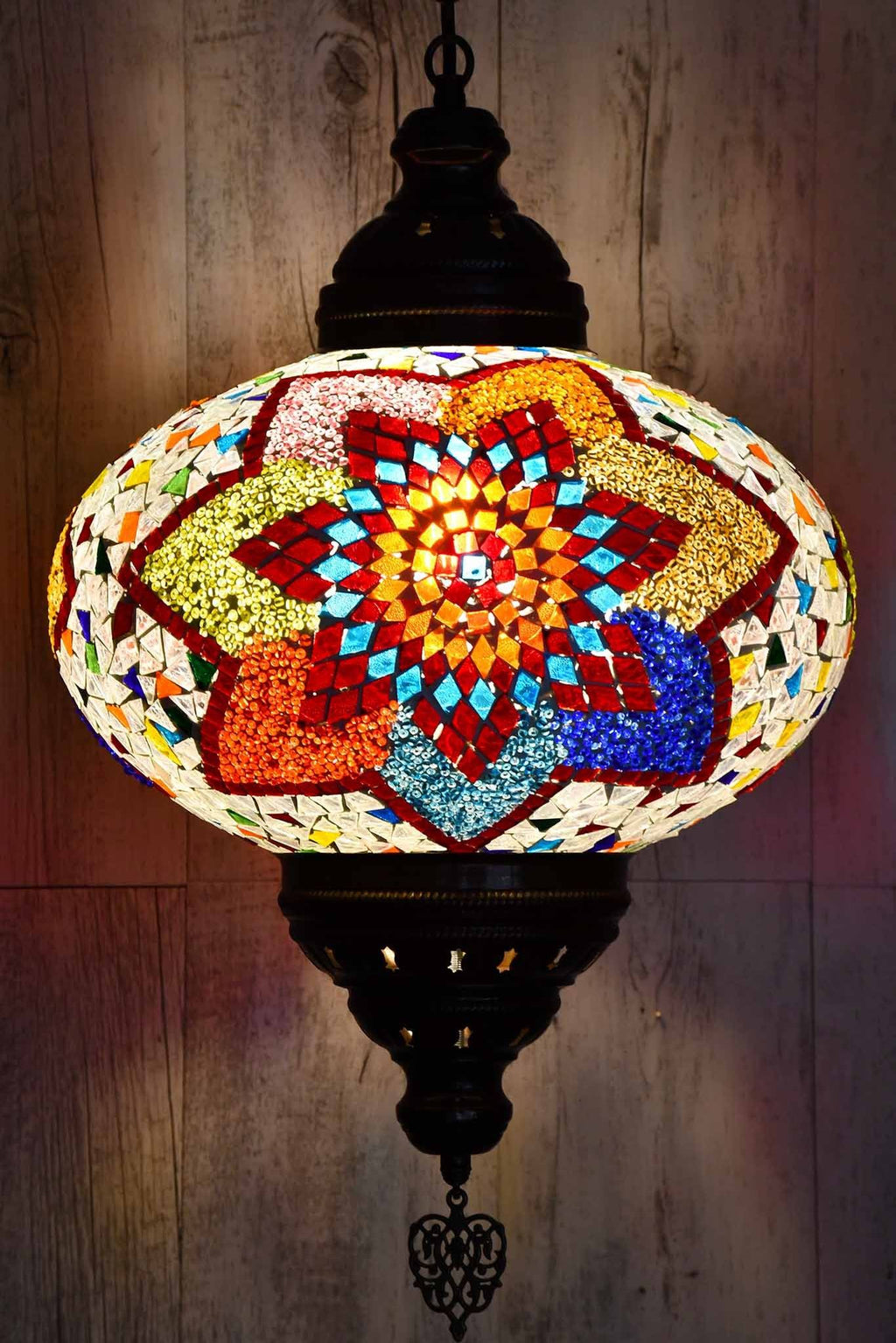 Turkish Pendant Light Exclusive Multicoloured B5 Lighting Sydney Grand Bazaar