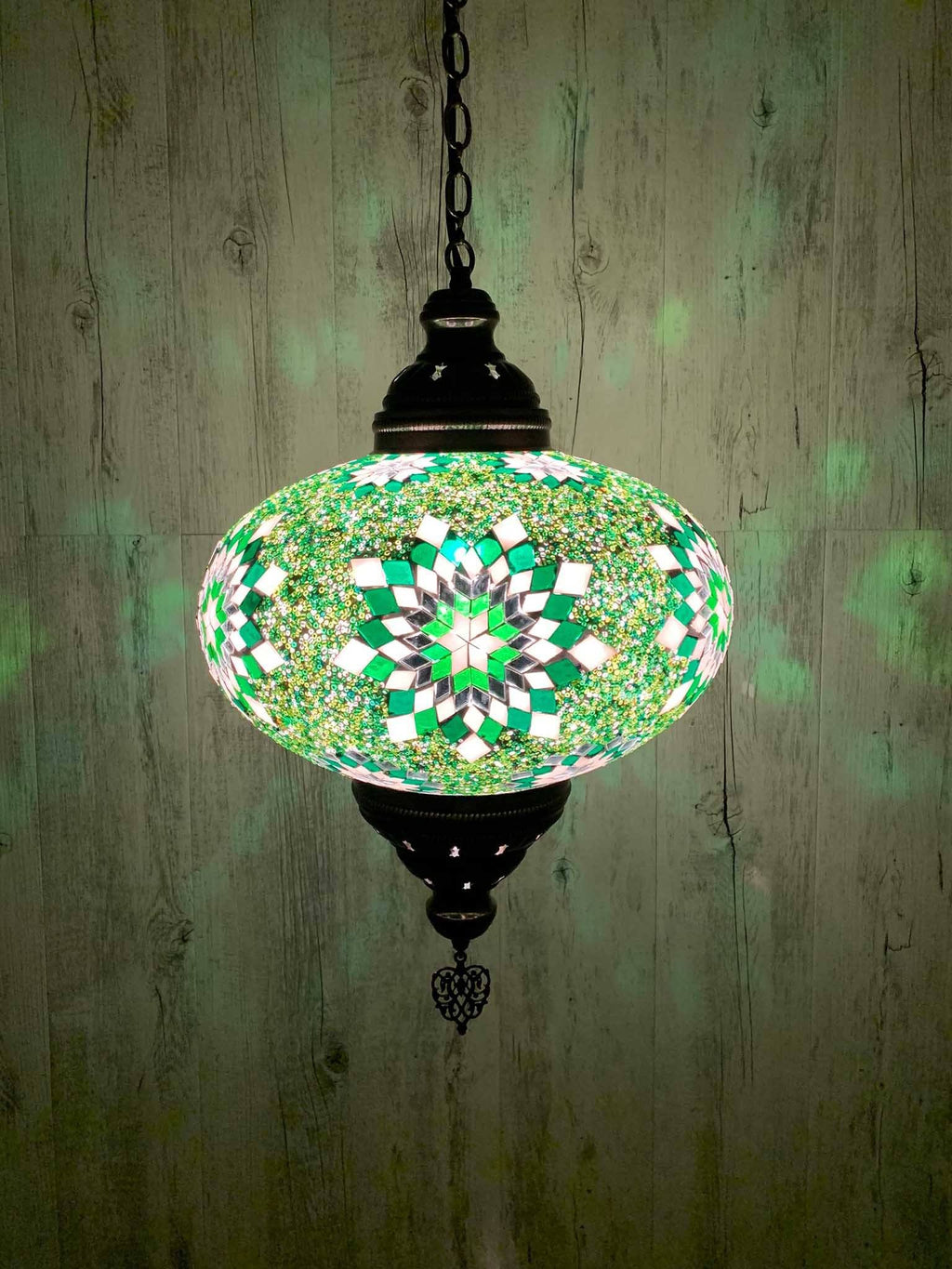 Turkish Pendant Light Green Star B5 Lighting Sydney Grand Bazaar
