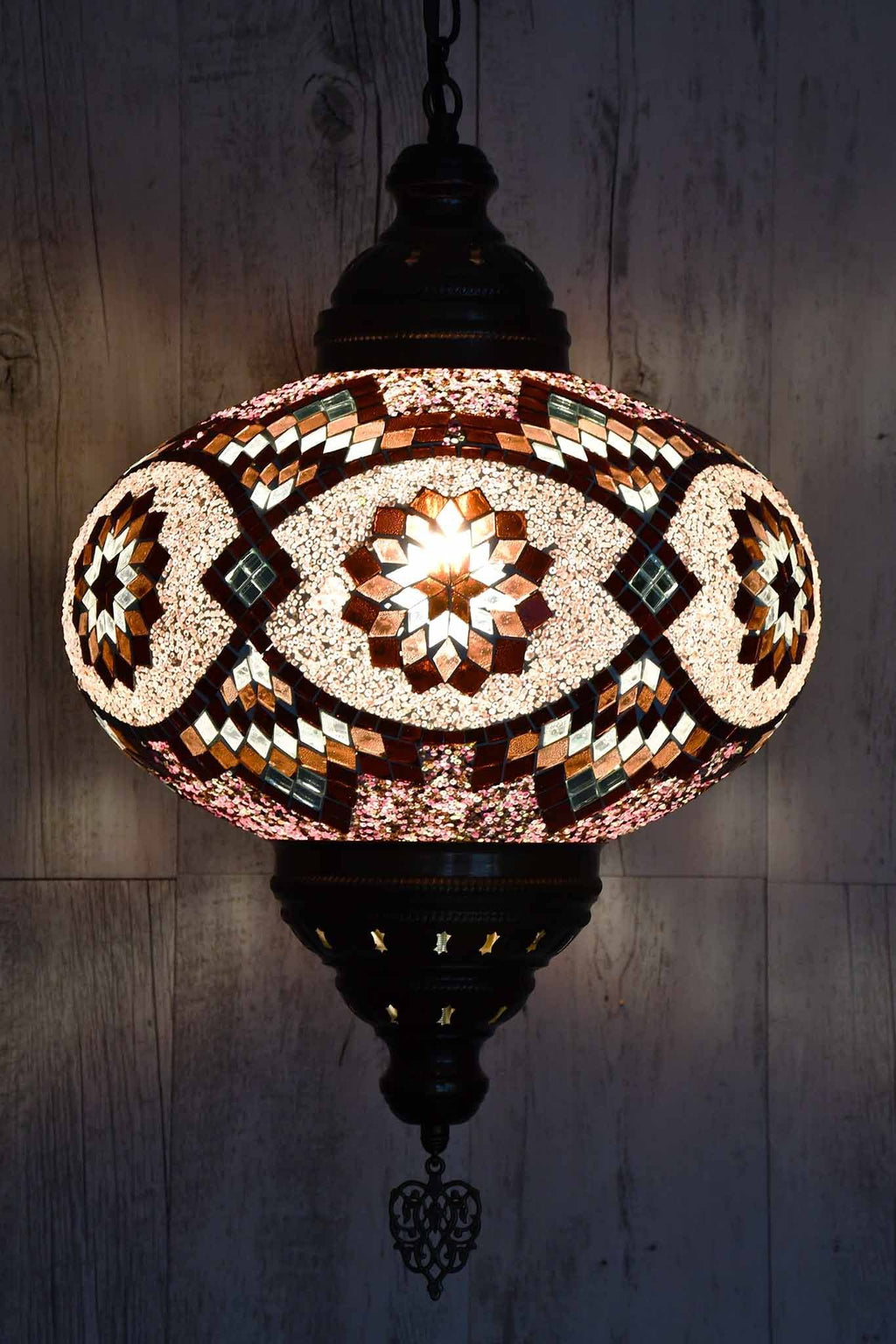 Turkish Pendant Light Maroon Pink B5 Lighting Sydney Grand Bazaar