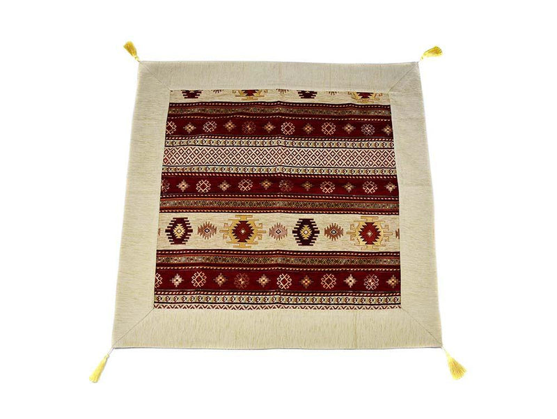 Turkish Tablecloth Tradition Collection, Brown
