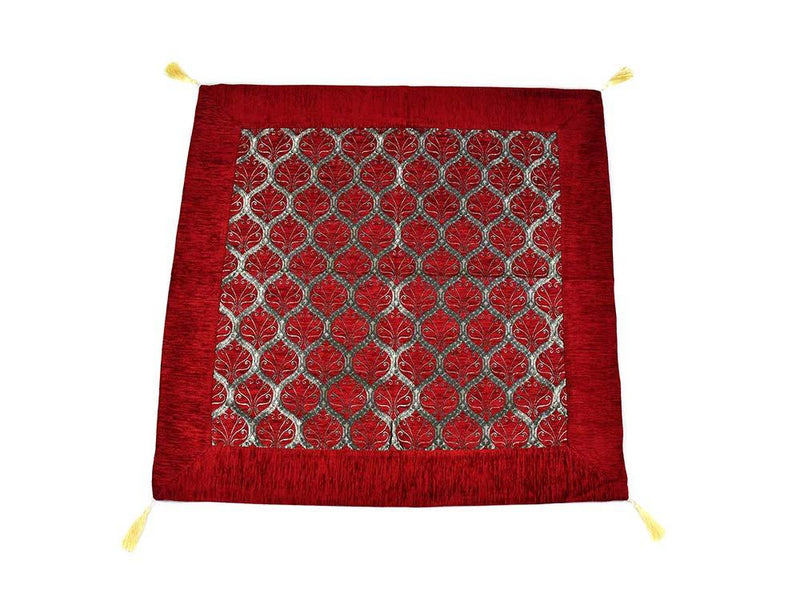 Turkish Tablecloth Traditional Collection Red Textile Sydney Grand Bazaar 90cm x 90cm