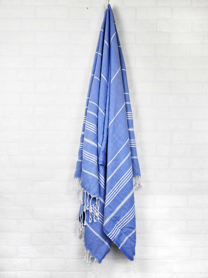 Turkish Towel Classic Striped Orange