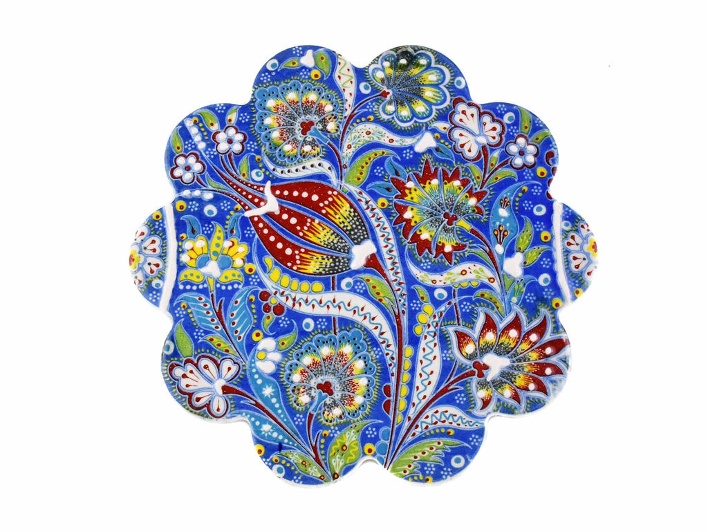 Turkish Trivet Ottoman Flower Collection Blue Ceramic Sydney Grand Bazaar 1