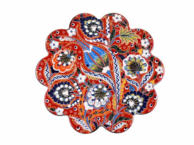 Turkish Trivet Ottoman Flower Collection Red Ceramic Sydney Grand Bazaar 2