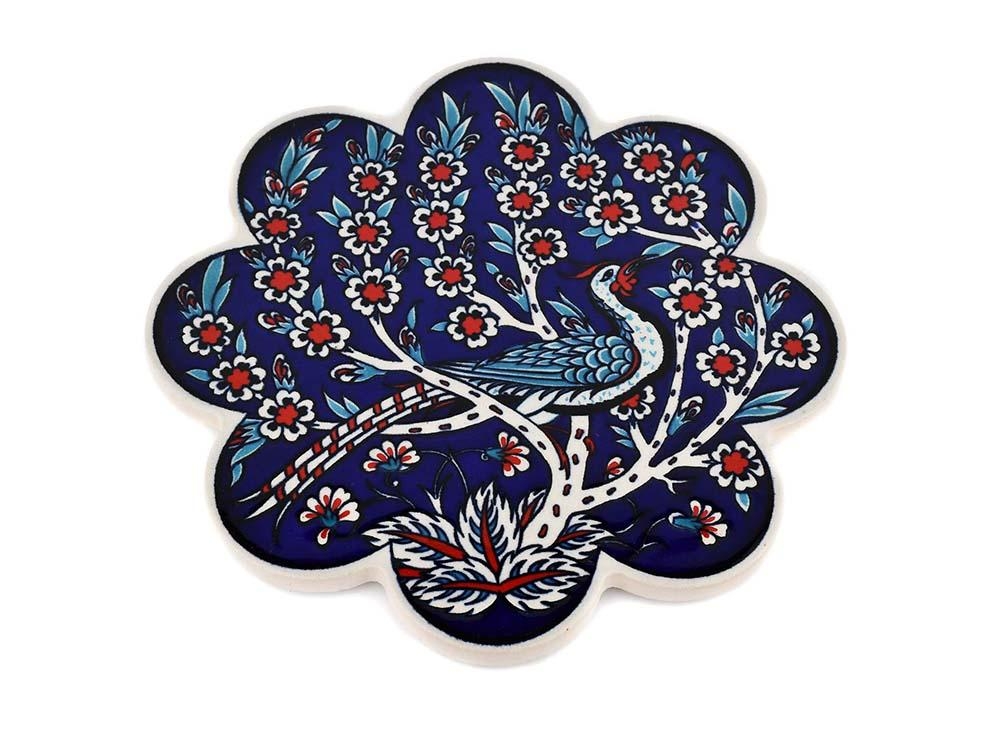 Turkish Trivet Traditional Iznik Design 10 Ceramic Sydney Grand Bazaar