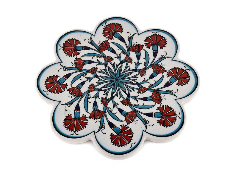 Turkish Trivet Traditional Iznik Design 27 Ceramic Sydney Grand Bazaar