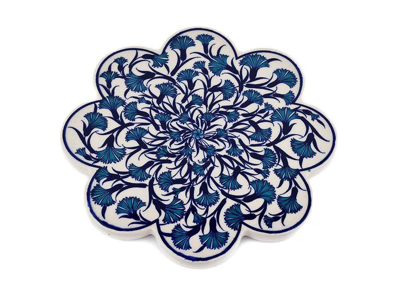 Turkish Trivet Traditional Iznik Design 39 Ceramic Sydney Grand Bazaar