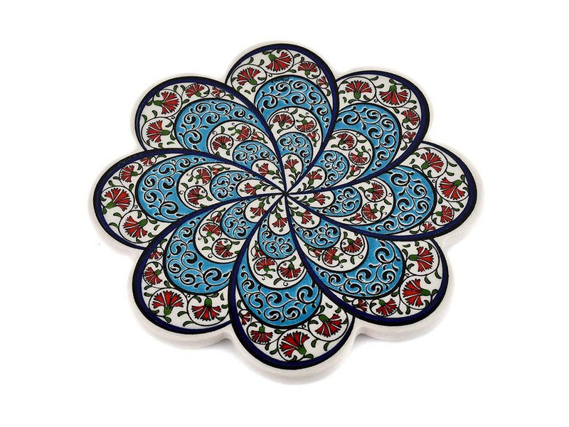 Turkish Trivet Traditional Iznik Design 43 Ceramic Sydney Grand Bazaar