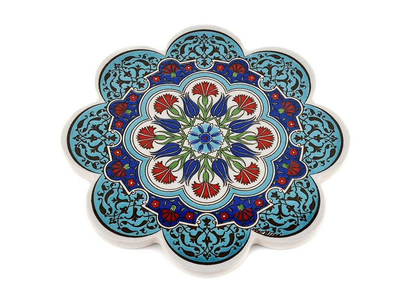 Turkish Trivet Traditional Iznik Design 50 Ceramic Sydney Grand Bazaar