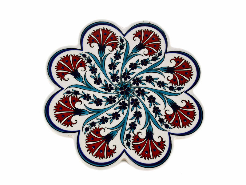 Turkish Trivet Traditional Iznik Design 61 Ceramic Sydney Grand Bazaar