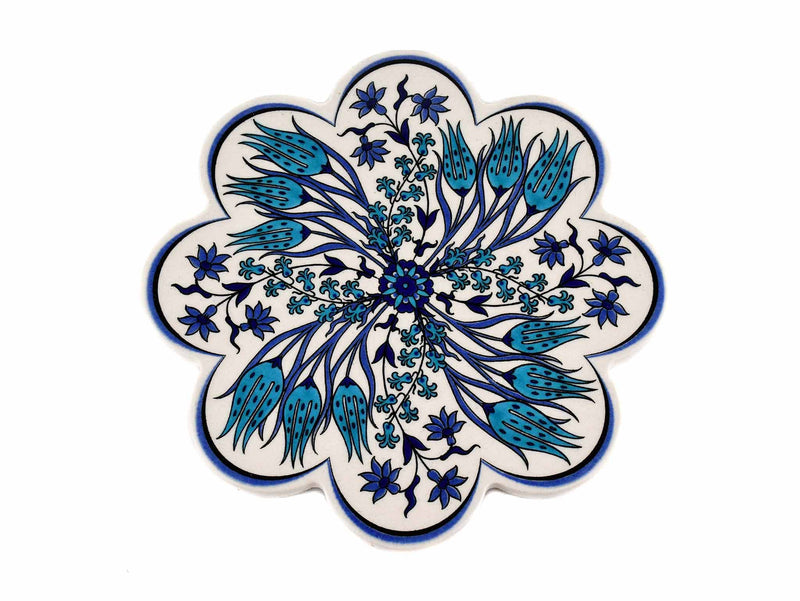 Turkish Trivet Traditional Iznik Design 65 Ceramic Sydney Grand Bazaar