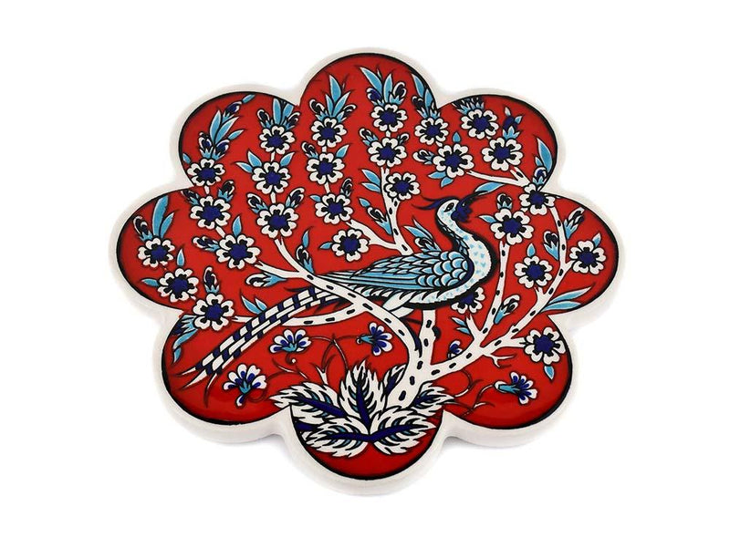 Turkish Trivet Traditional Iznik Design 9 Ceramic Sydney Grand Bazaar