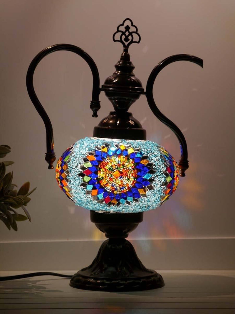 turkish teapot lamp multicolour sydney