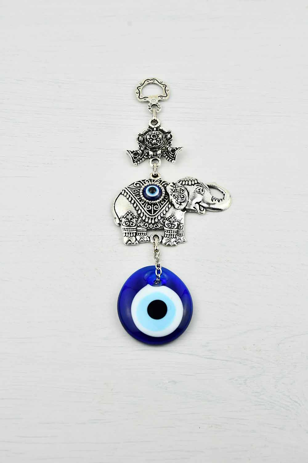 turkish evil eye elephant ornament