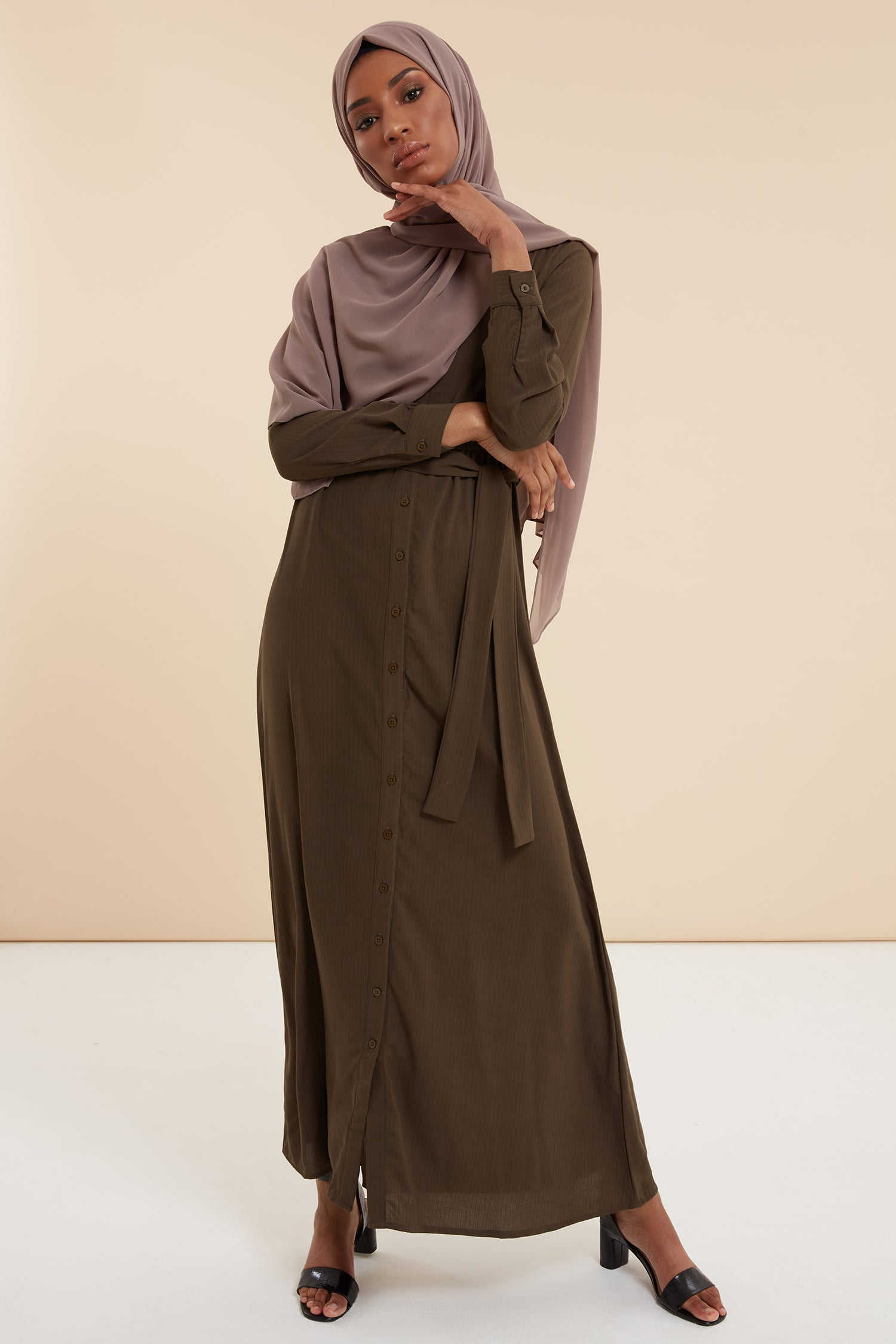 Abayas for work, london abayas, shirt abaya, green abaya, graduation abaya, designer abayas, occasional abayas