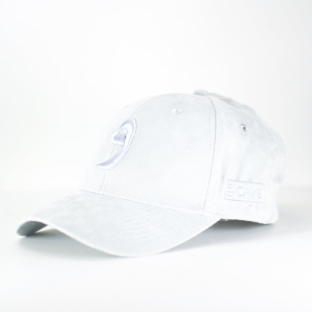 Triple Tint Grey Wow Suede Arabic Cap - Cave London