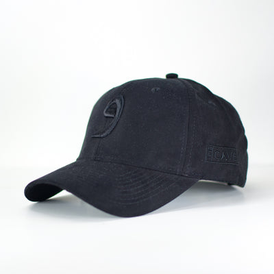 Triple Black Wow Suede Arabic Cap - Cave London