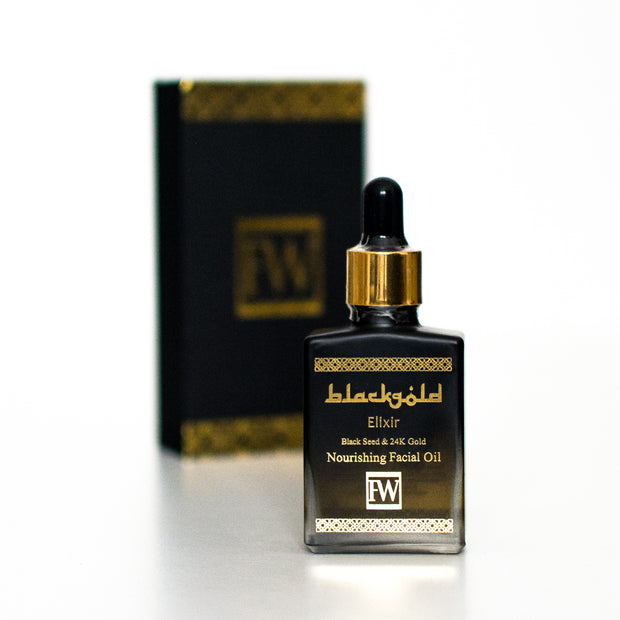 Black Gold Elixir- Nourishing Facial Oil 30ml - Cave London