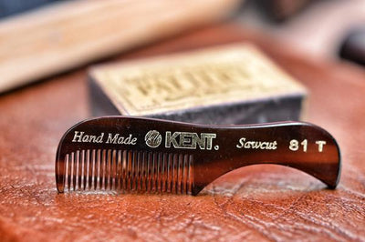 Kent Hand Made Beard & Moustache Comb - Cave London