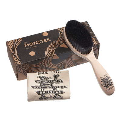 Kent Handmade Monster Beard Hair Brush - Cave London