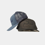 Navy On Navy Salam/Peace Arabic Cap - Cave London