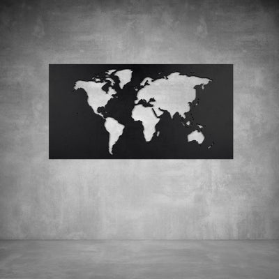 World Map Wall Art