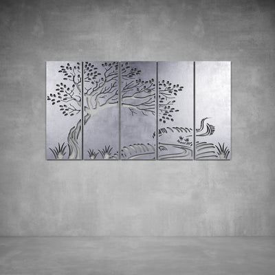 Oriental Tree Wall Art