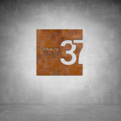 House Number Design 8