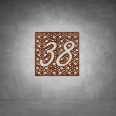House Number Design 10