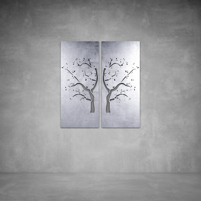 Mirror Tree Wall Art