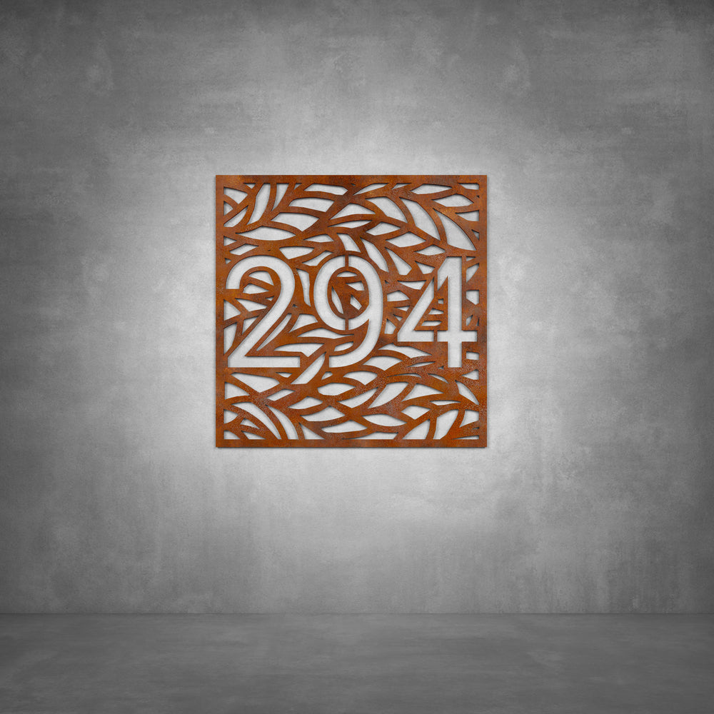 House Number Design 12