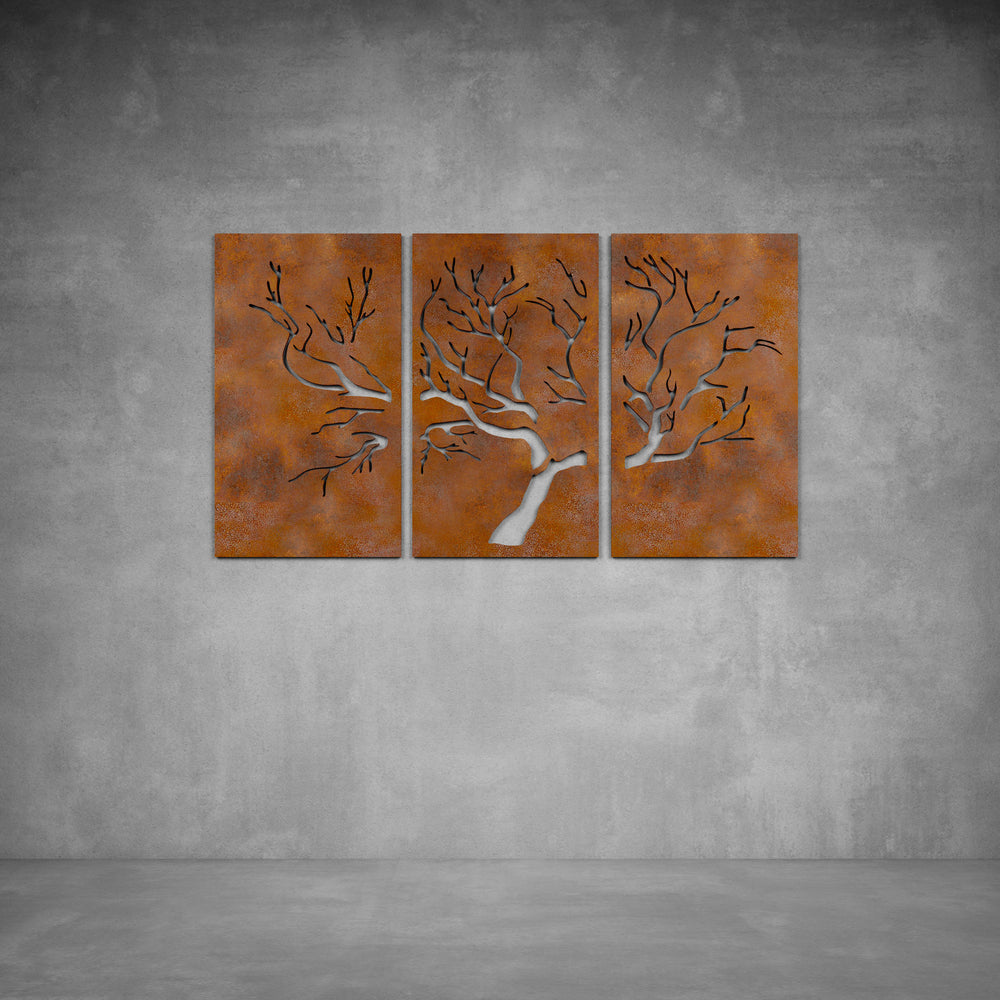 Three Tree Wall Art