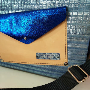 The Blues Leather Handbag