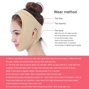 Face Lift Up Belt Sleeping Face-Lift Mask Massage Face V Shaper Slimming Face Shaper Relaxation Facial Slimming Bandage