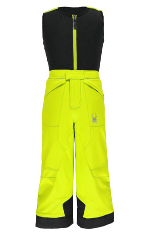 Spyder Mini Expedition Kids Pants - Bright Yellow