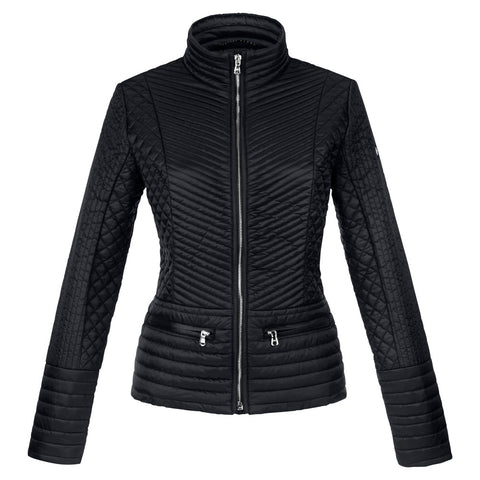 Poivre Blanc Ladies W15-1253 Quilted Jacket BLACK