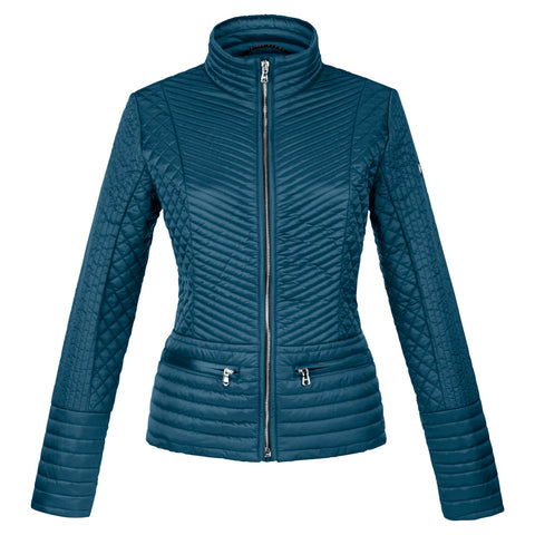 Poivre Blanc Ladies W15-1253 Quilted Jacket PAON GREEN