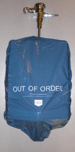 FULL CASE OF BLUE URINAL COVERS (#52 3-packs) 156 covers total.