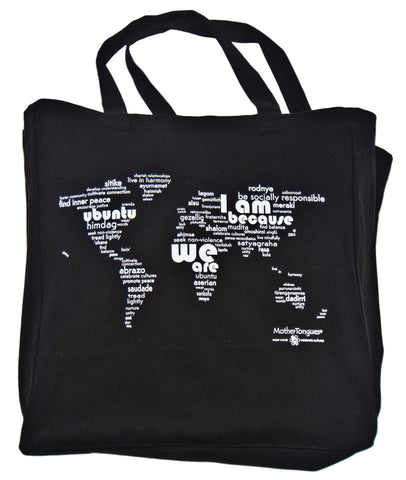 Tote bag - carry the world