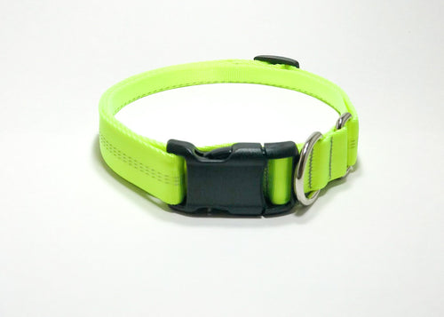 Slip Collar // Medium Dog // Bright Yellow