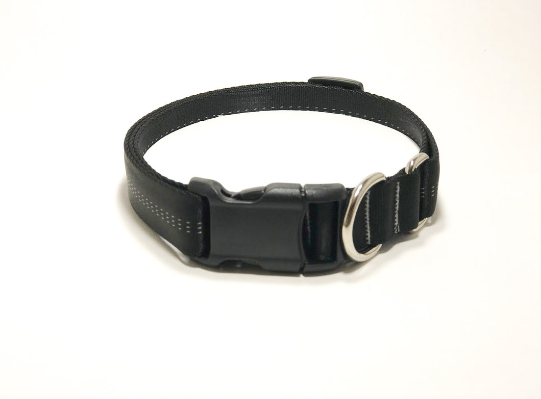 Slip Collar // Large Dog // Midnight Black