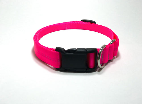 Slip Collar // Large Dog // Hot Pink