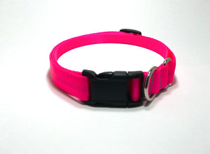 Slip Collar // Medium Dog // Hot Pink