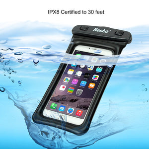 "5.5"" Waterproof Cell Phone Pouch"